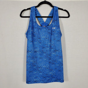 Under Armor Blue Workout Tank•Size L•